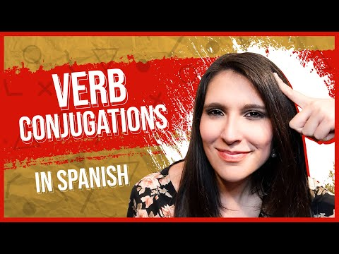 How to Learn Spanish Verb Conjugations ✍: AR ER IR / Complete Guide [SPANISH LESSON 19]