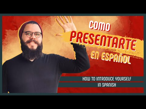 9 Easy Phrases to INTRODUCE YOURSELF in Spanish (+kiss or handshake?) [SPANISH LESSON 2]