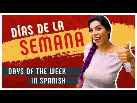 The 7 DAYS OF THE WEEK in Spanish (+ a Simple Trick to Memorize Them!) 🗓️ [SPANISH LESSON 12]
