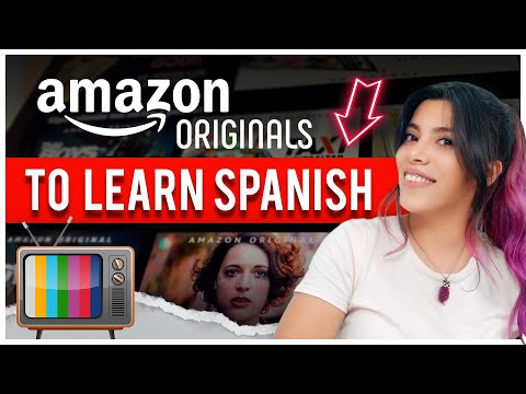 TOP 5 BEST AMAZON ORIGINALS To Learn Spanish (+ Tricks to Learn Vocabulary) 🎥
