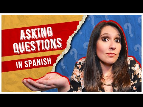 Phrases You Need to ASK QUESTIONS in Spanish ❓[SPANISH LESSON 23]