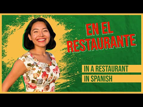 Order at a RESTAURANT in Spanish, Impress the Waiter 🥂ESSENTIAL phrases