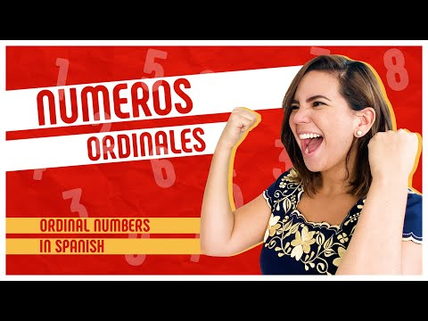 The Definitive Guide to ORDINAL NUMBERS in Spanish (Primero,...) 1️⃣