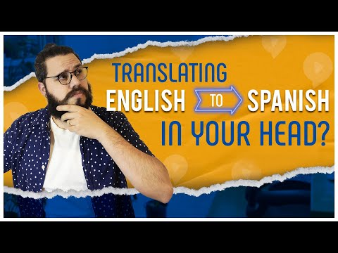 STOP Translating in your Head, Start THINKING IN SPANISH Instead 🤯