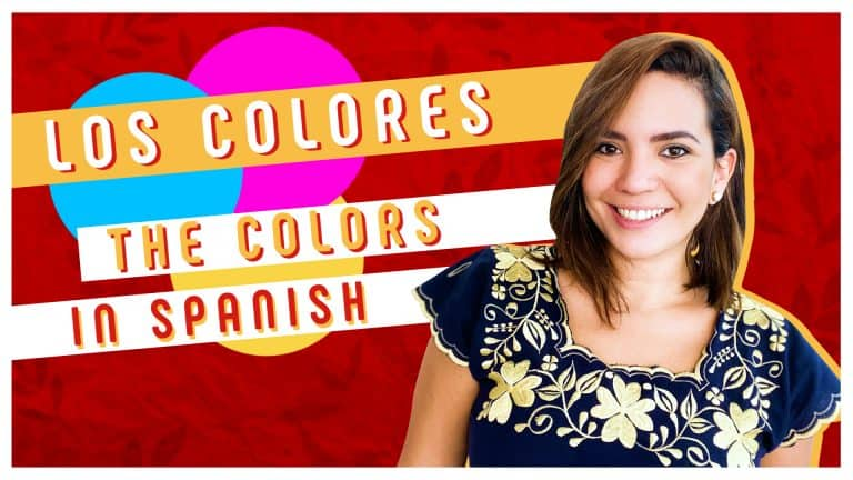 The Colors in Spanish 🌈