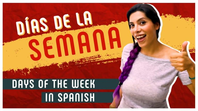 The Days of the Week in Spanish 🗓️