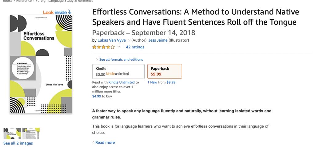 Effortless Conversations Book