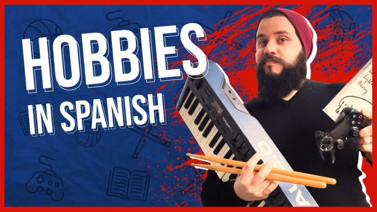 How to Talk About Your HOBBIES in Spanish EFFORTLESSLY 🎼