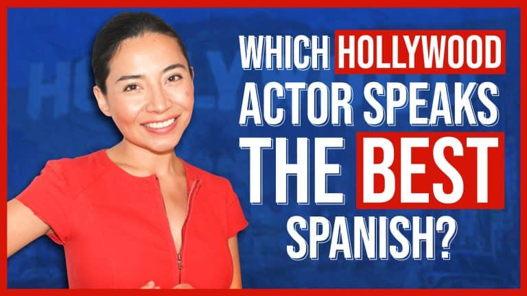 WHICH HOLLYWOOD ACTOR SPEAKS THE BEST SPANISH?