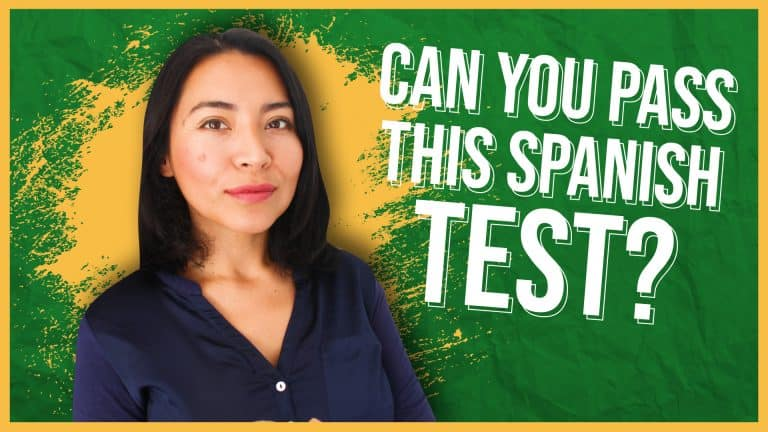 CAN YOU PASS THIS SPANISH TEST?