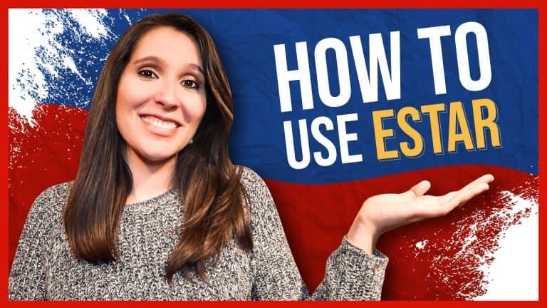 Learn to conjugate ESTAR through CHUNKING