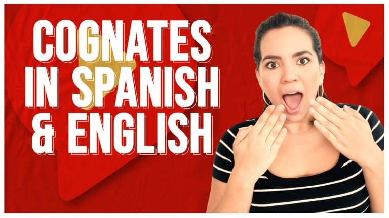 Cognates: 30 words that are the same in Spanish & English
