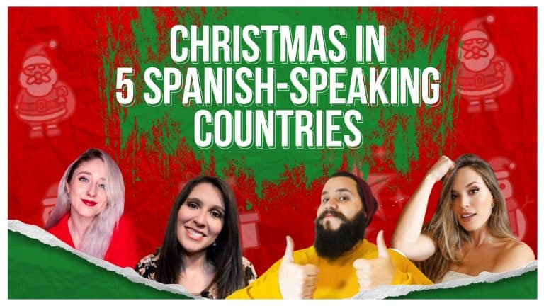 Celebrating Christmas in 5 Spanish-speaking Countries 🎄(ft. AndyGM & Español con María)