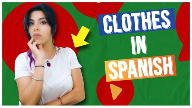CLOTHES AND FASHION VOCABULARY in Spanish!
