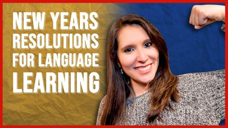 MY NEW YEAR'S RESOLUTIONS IN SPANISH (Tell Me YOURS in Spanish Too!)