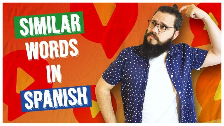 DO YOU KNOW THE DIFFERENCE BETWEEN THESE SPANISH WORDS?