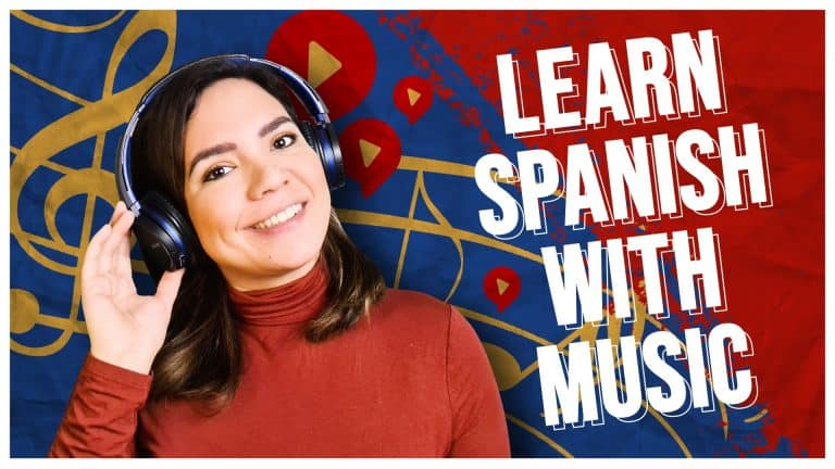 Learn Spanish with My Favorite MUSIC! 🎶