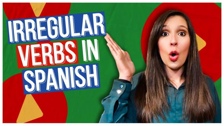 Master 13 Spanish Irregular Verbs With Chunks (and WITHOUT CONJUGATION TABLES)