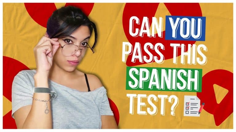 Can You Pass this Spanish Test (10 NEW QUESTIONS!)