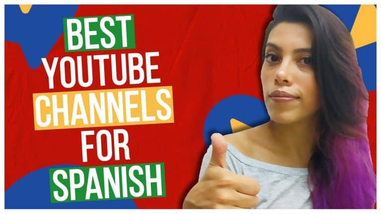 Top 8 AMAZING YouTube Channels that'll make you speak fluent Spanish 🤯