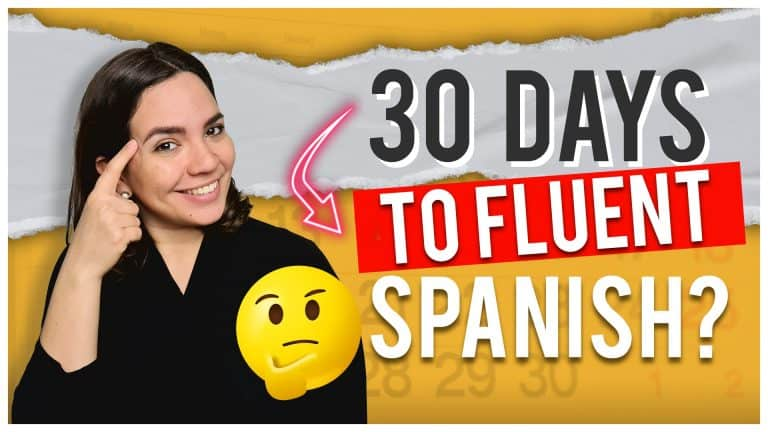 Do THESE 4 THINGS To Speak Spanish In the Next 30 Days (Study Plan Inside)
