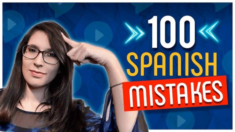 100 typical mistakes in Spanish